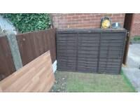 Used fence panels