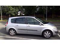 2005 renault grand scenic 7 seater 1.6 ltr petrol