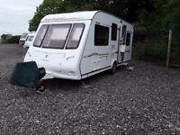 Compass magnum sport 505 2006 5 berth caravan