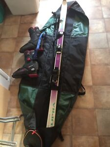 Teenager ski & boot set
