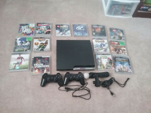 PS3 with 14 games (Blueray)