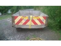 tipper body with ram and pump £200