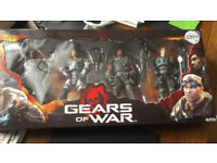 Gears of War Delta Squad Action Figures.