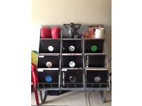 "12"" Vinyl Record Album Display Unit Rack"