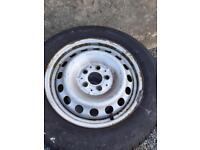 Mercedes Vito wheels tyres volk