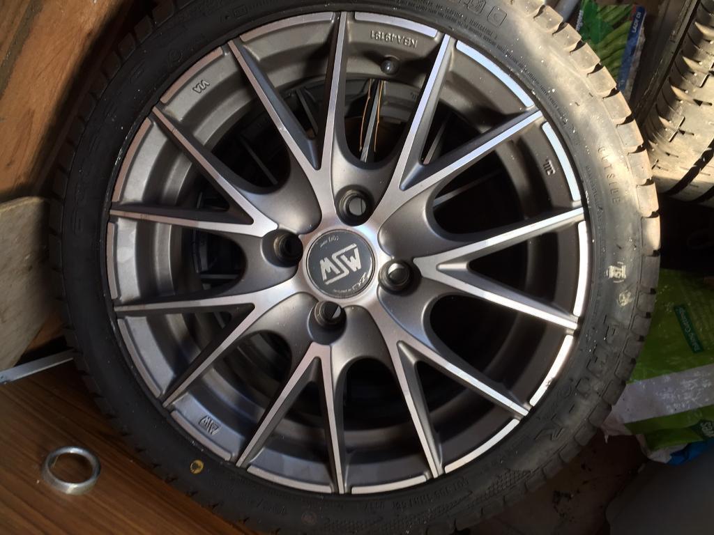 Citroen C1 wheels