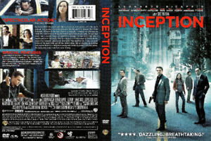 Inception dvd-New and sealed + bonus dvd