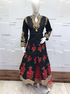 Indian ladies outfits anarkali gowns lehnga salwar plus sizes