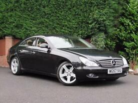 Mercedes CLS CLS320 CDI, 2007 - DIESEL BLACK - CREAM LEATHER - AUTOMATIC