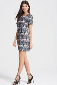 BRAND NEW!! Floral Print Dress by 'Girls On Film' Fashion House - Labels still attached.