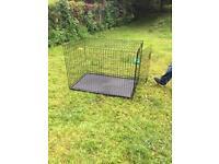 XL dog crate (HARDLY USED)