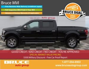 2016 Ford F-150 LARIAT 3.5L 6 CYL ECOBOOST AUTOMATIC 4X4 SUPERCR