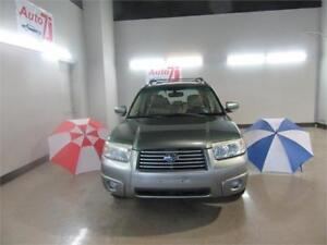 2007 Subaru Forester**AWD,TOIT PANO, CUIR,AUT**EXTRA PROPRE**