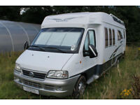 2004 Hobby 700 LHD 4 Berth 4 Belts Fixed Rear Bed Motorhome For Sale Ref 11224