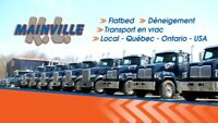 Camionneur / camionneuse classe 1 Canada USA