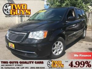 2012 Chrysler Town & Country TOURING SUNROOF DVD ALLOYS PWR SLID