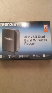 Trend net dual band wireless router