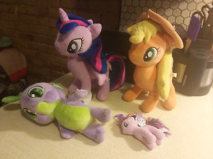 My Little Pony Friendship is Magic Plushes