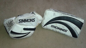 Goalie-Don Simmons 995 Pro Series Combo