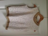 Len Edwards vintage sequin top