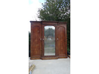 Large Victorian Cupboard free but £5 charity donation encouraged