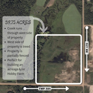 39.75 ACRES - READY FOR YOU AND YOUR DREAMS
