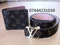 All Colour Louis Vuitton 2 for £45 Wallet £25 each belt lv