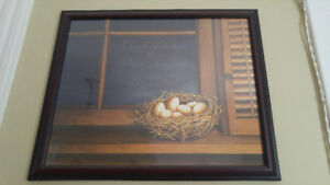 Eggs in Nest 22.5 x 18 inches