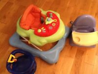 Baby walker and other items for quick sale
