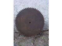 Bench saw blade , heavy duty 32 inch