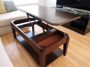 Brand new lift-top coffee table