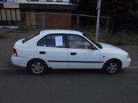 Hyundai Accent 4months MOT £250