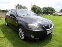 2006 LEXUS IS 220 SE DIESEL..180 BHP..MOTED TO JUNE 2018..POSSIBLE PART EX..CREDIT CARD ACCEPTED