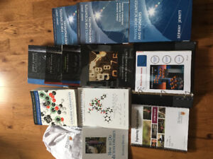 1st Year McMaster Engineering -- full set of new texbooks