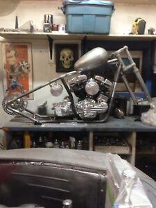 Harley Davidson 1967 project