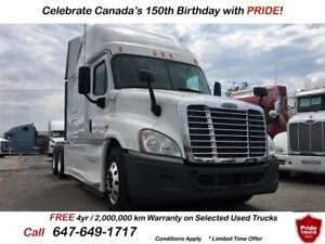 2014 Freightliner CASCADIA EVOLUTION 8 NEW MICHELIN TIRES