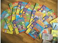 Large collection of Roald Dahl books and comics / magazines