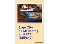 Lego City 4642 Fishing Boat
