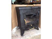 Steel body wood/coal/coke stove