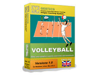 GESTICS VOLLEYBALL - Make graphics sports exercises, draw sport volleyball