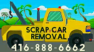 SCRAP CAR REMOVAL OAKVILLE MILTON,  TOP CASH AND QUICK FREE TOW