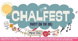 Chalfest party on the hill - with park and ride