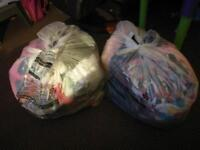 2 large bags of girls clothes 2-3 years old
