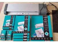 Ibico IL 19VT A3 Office Laminator with 1000 mixed Laminator pockets