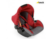 Hauck Freerider Zero Plus Car Seat Charcoal/Red Also, Compatible with Viper, Shopper & More