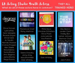 On Camera Acting Classes for Youth - LB Acting Studio