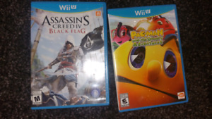 Wii u games assassins creed and pacman