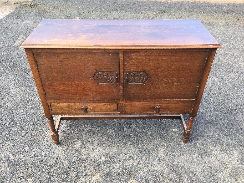 Cws Pelaw Antique Intended Vintage 1930s Cws Ltd Oak Sideboard For Sale In Leith Edinburgh