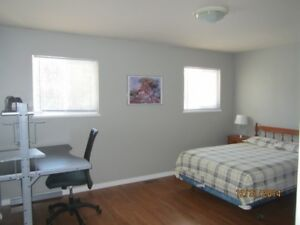 Furnished main floor master bedroom for rent in Petawawa