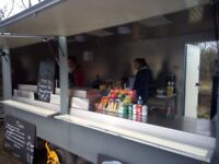 Catering Trailer For Sale With or Without Pitch Absolute Bargin